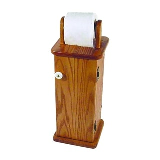 Free Standing Toilet Paper Holder/Cabinet