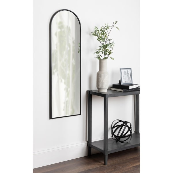 Kate and Laurel Valenti Tall Framed Arch Mirror - 16x48