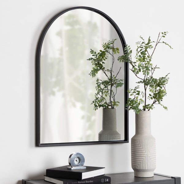 Kate And Laurel Valenti Framed Arch Mirror by Kate And Laurel