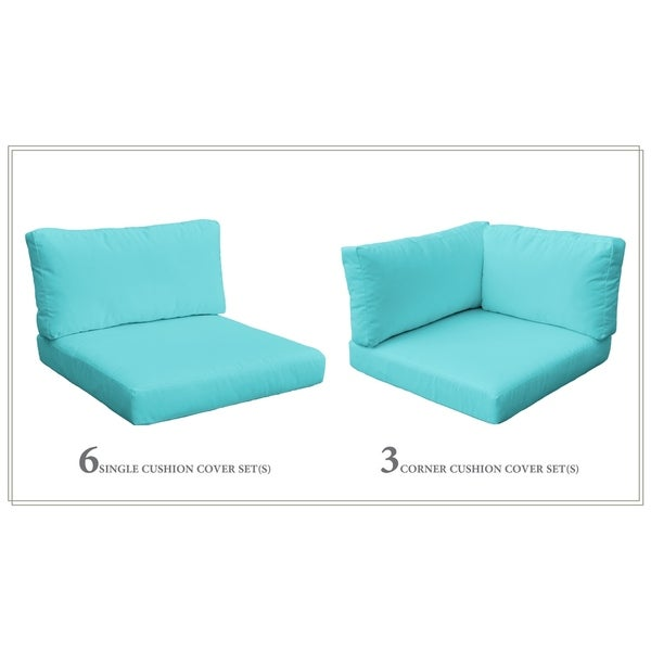 Shop Tk Classics Monterey 11a Foam 6 Single 3 Corner Cushion Set