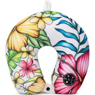 Maui and Sons Travel Neck Pillow - Supportive Comfort Airplane Pillow