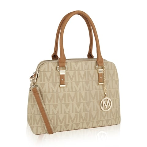 MKF Collection Moda M Signature Satchel Bag by Mia K.