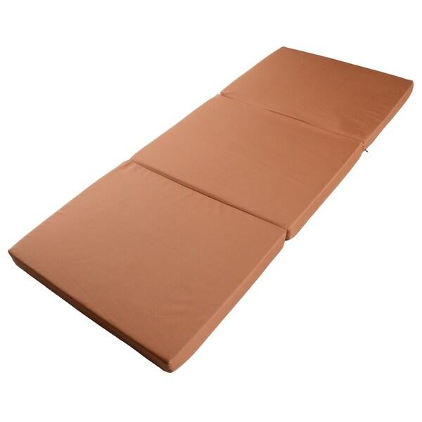 Shop Milliard 3 Inch Ruggedized Tri Fold Foam Camping