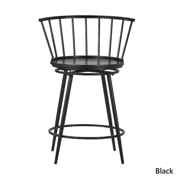 Magnificent Shop Olix Windsor Swivel Counter Stools With Low Back Set Unemploymentrelief Wooden Chair Designs For Living Room Unemploymentrelieforg