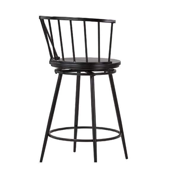 Excellent Shop Olix Windsor Swivel Counter Stools With Low Back Set Unemploymentrelief Wooden Chair Designs For Living Room Unemploymentrelieforg