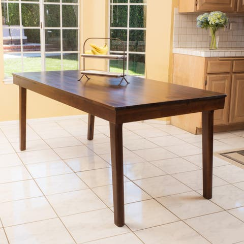 Greenway Dining Table by Christopher Knight Home - Mahogany