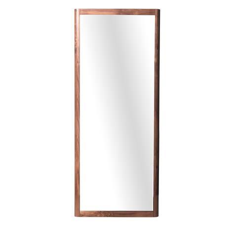 Waldorf Walnut Standing Mirror