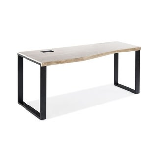 Everest Collection Corner Crescent Desk Left Side Facing