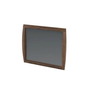 Kirkwood American Walnut Mid Century Modern Hanging Mirror