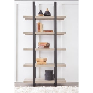 Everest Collection Tall Open Bookcase