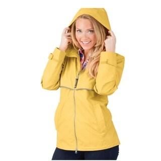 Charles River Women's Englander Rain Jacket Buttercup