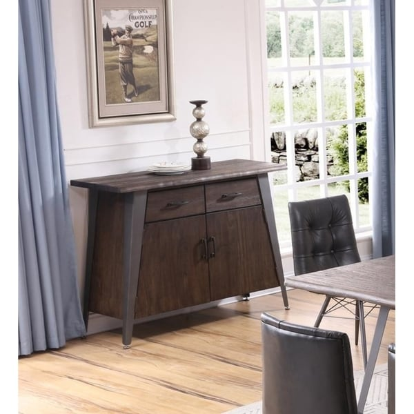 Shop Best Master Furniture Antique Brown Wood/Metal