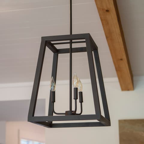Reed 3 Light Pendant
