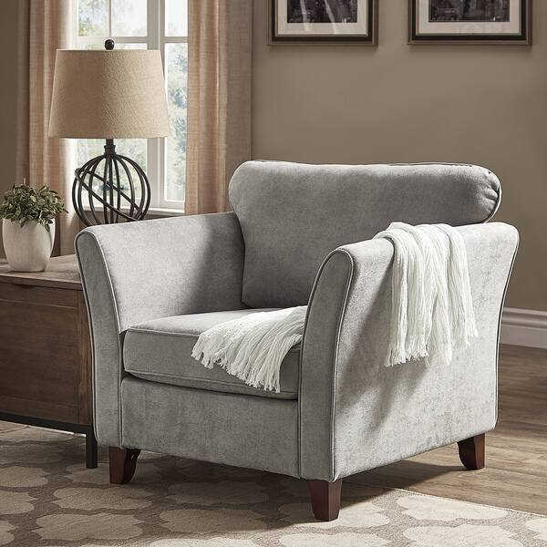 Gia Low Profile Living Room Chair By Inspire Q Classic Overstock 25444157