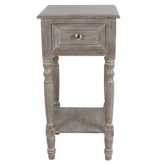Simplify One Drawer Accent Table