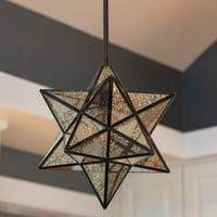 Star Shaped One Light Pendant