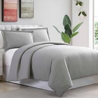 Amrapur Overseas Ultra-Plush 3-Piece Solid Duvet Set
