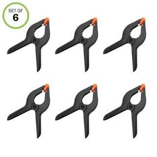 "Evelots 6"" Plastic Clips - Set of 6"
