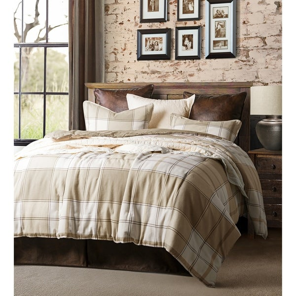 HiEnd Accents Wilson 3 Piece Oversized Comforter Set, Queen
