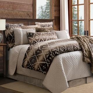 Link to HiEnd Accents Chalet Aztec Oversized 3 Piece Comforter Set, Queen Similar Items in Comforter Sets