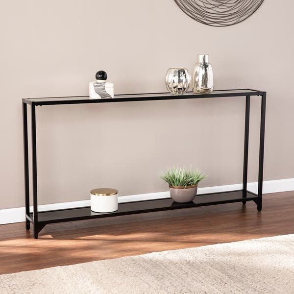 Stupendous Shop Carbon Loft Glenn Narrow Metal Console Table On Sale Caraccident5 Cool Chair Designs And Ideas Caraccident5Info