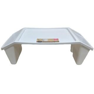 White Lap Tray