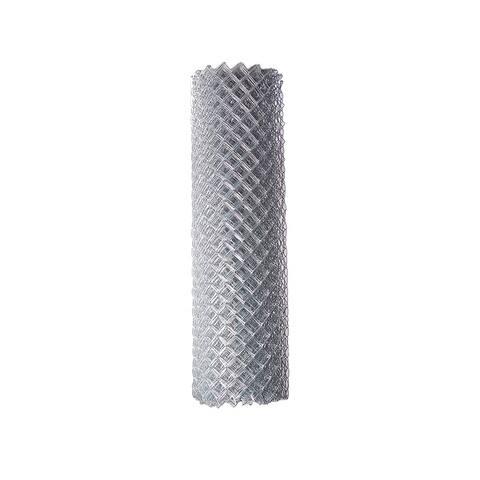 ALEKO Galvanized Steel 6 X 50 Feet Chain Link Fence Fabric, 12.5-AW Gauge