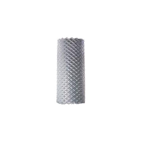ALEKO Galvanized Steel 4 X 50 Feet Chain Link Fence Fabric, 11.5-AW Gauge