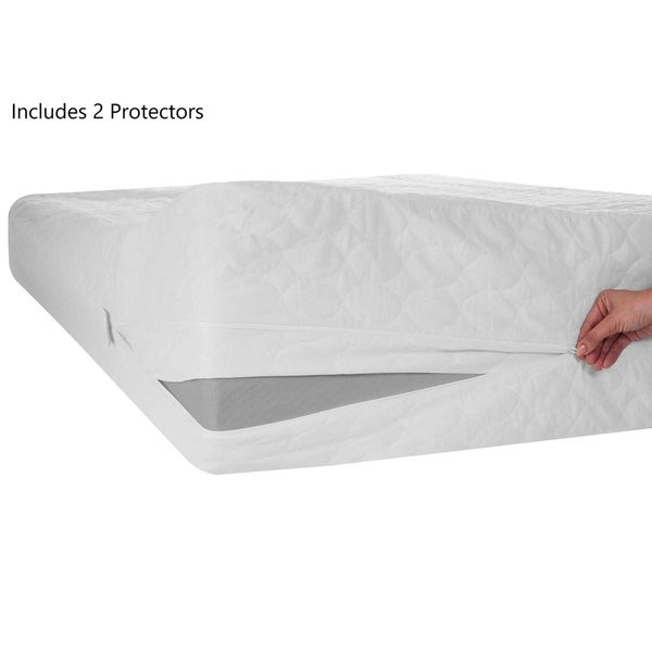 Shop Onetan 2 Mattress Or Box Spring Protector Covers Bed Bug