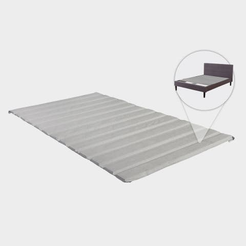 ONETAN, Heavy Duty Covered Wooden Bed Covered Slats/Bunkie Board