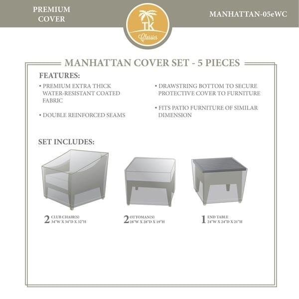 MANHATTAN-05e Protective Cover Set