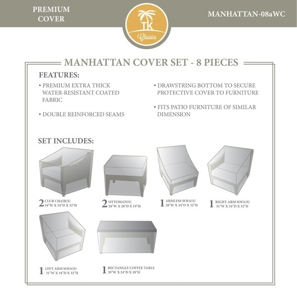 MANHATTAN-08a Protective Cover Set