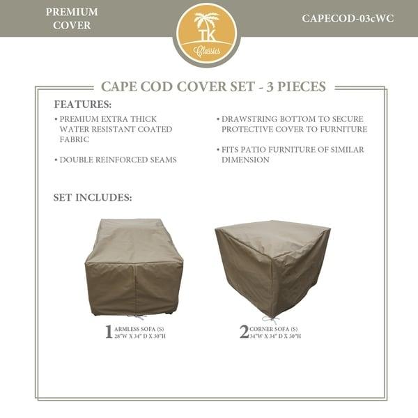CAPECOD-03c Protective Cover Set