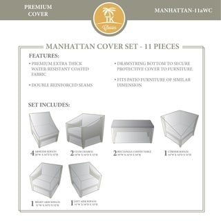MANHATTAN-11a Protective Cover Set