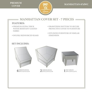 MANHATTAN-07d Protective Cover Set