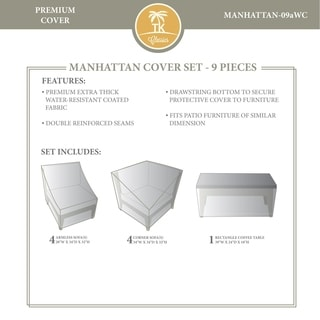 MANHATTAN-09a Protective Cover Set