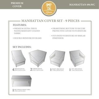 MANHATTAN-09c Protective Cover Set
