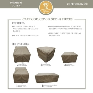 CAPECOD-08c Protective Cover Set