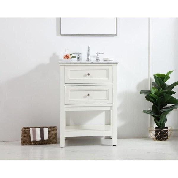 24 in. single bathroom vanity set