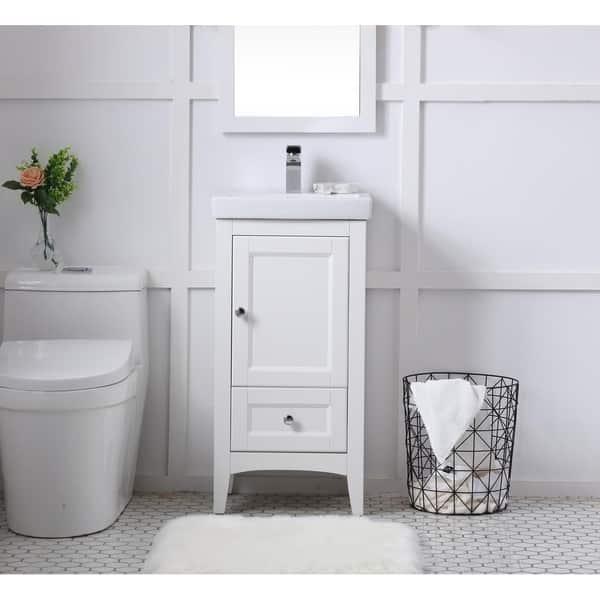 18 In Single Bathroom Vanity Set Overstock 25445240