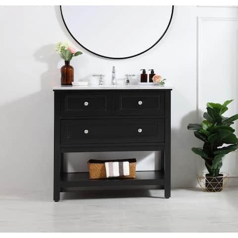 36 in. single bathroom vanity set