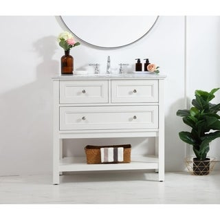 36 in. single bathroom vanity set