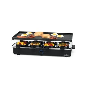 Salton Party Grill & Raclette, 8 Person