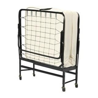 ONETAN, Portable Folding Guest Bed Frame with Foam Mattress, 30-Inch