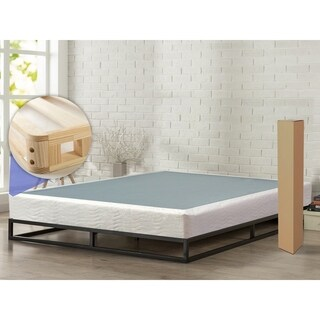 "ONETAN, 8"" Easy Wood Box Spring with Simple Assembly for Mattress"