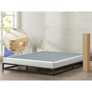 """ONETAN, 5"""" Easy Wood Box Spring with Simple Assembly for Mattress"""