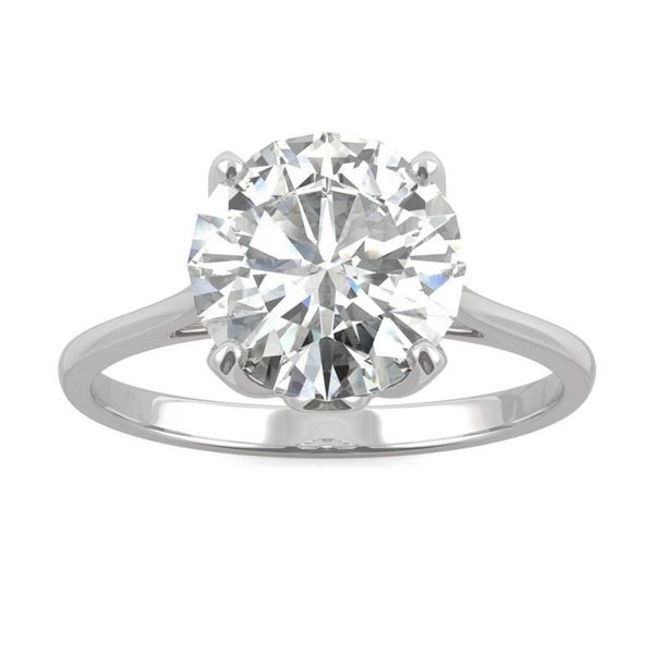 Bright 2.70 Ct Diamond Solitaire 14k White Gold Wedding Ring Size M Other Rings Jewellery & Watches