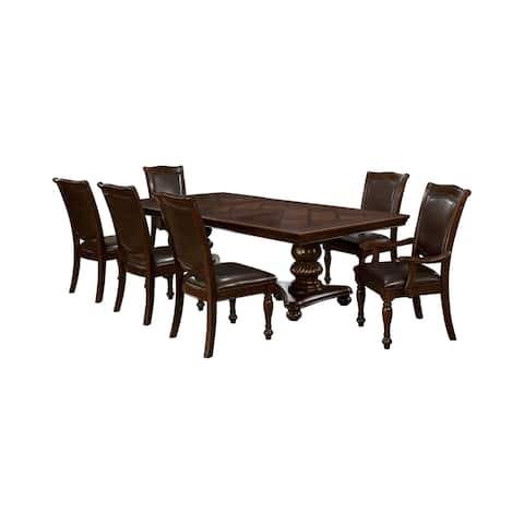 Copper Grove Balgarovo 7-piece Dining Table Set