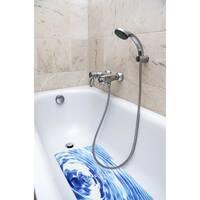 Splash Home Surge Fabric Printed Bathtub Mats - 16 x 27