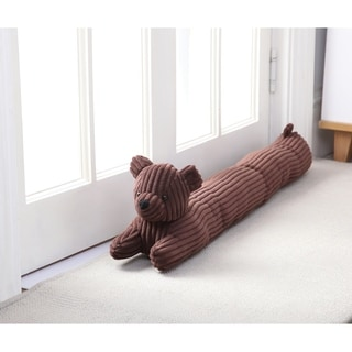 Asher Home Brian the Bear Draft Guard - Brown
